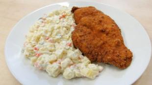 fried-carp-with-potato-salad